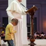 pope francis and boy
